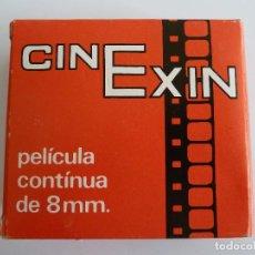 Juguetes antiguos Exin: PELICULA CINEXIN - D/201 CHARLOT PATINADOR - CHARLOT Y SU RIVAL. Lote 84865280