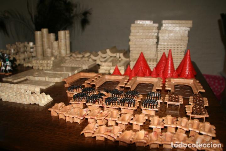 Juguetes antiguos Exin: Gran lote exin castillos - castillo - 45 figuras + 2089 piezas - Foto 2 - 86157396