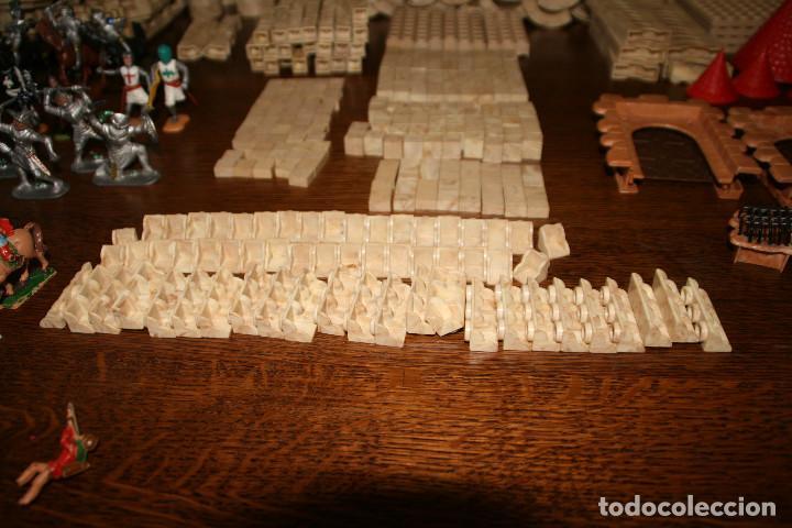 Juguetes antiguos Exin: Gran lote exin castillos - castillo - 45 figuras + 2089 piezas - Foto 8 - 86157396