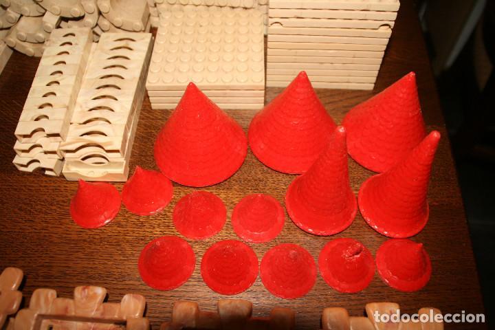 Juguetes antiguos Exin: Gran lote exin castillos - castillo - 45 figuras + 2089 piezas - Foto 10 - 86157396