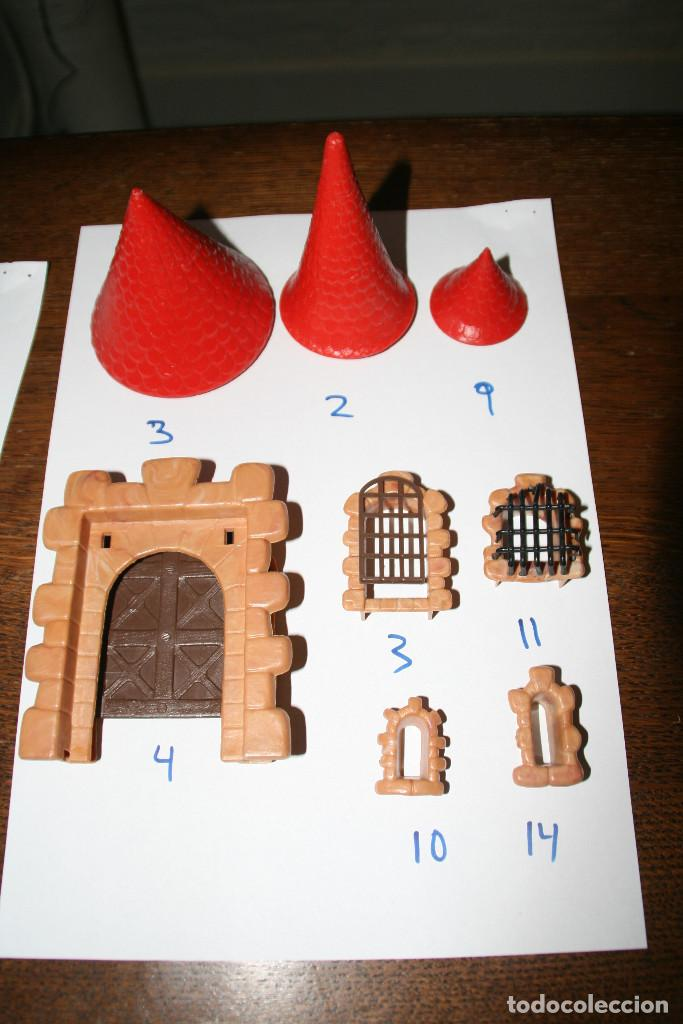 Juguetes antiguos Exin: Gran lote exin castillos - castillo - 45 figuras + 2089 piezas - Foto 13 - 86157396