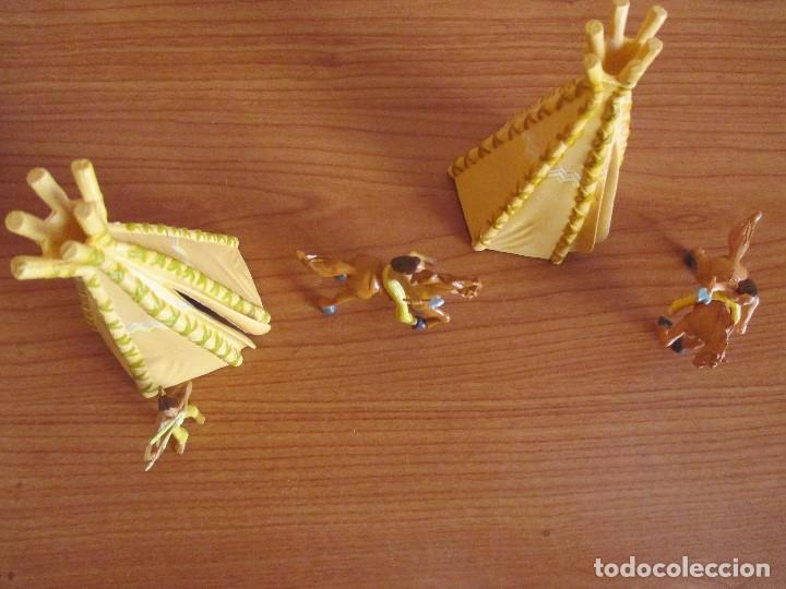 Juguetes antiguos Exin: EXIN WEST / EXIN CASTILLOS: CAMPAMENTO INDIO - Foto 2 - 87069183