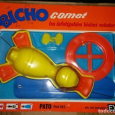 Juguetes antiguos Exin: BICHO COMET EXIN COMETA PATO. Lote 86542544