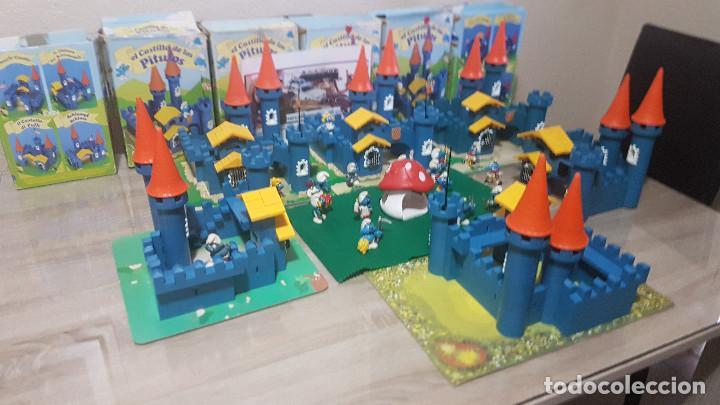 Juguetes antiguos Exin: ciudad exin castillos pitufos - Foto 3 - 86579764