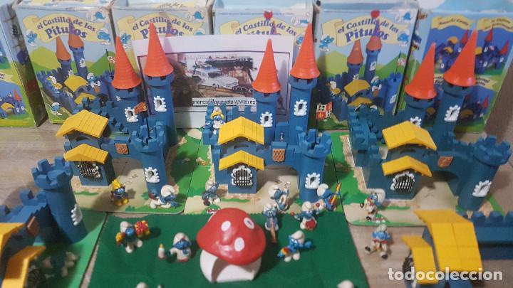 Juguetes antiguos Exin: ciudad exin castillos pitufos - Foto 4 - 86579764