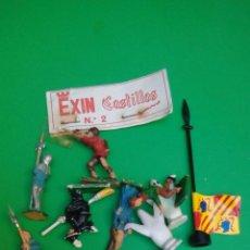 Juguetes antiguos Exin: EXIN CASTILLOS LOTE PERSONAJES. Lote 91639320