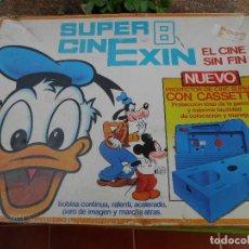 Juguetes antiguos Exin: SUPER 8 CINEXIN FUNCIONA PERFECTAMENTE!!!. Lote 140797094