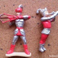Juguetes antiguos Exin: 2 FIGURAS EXIN CASTILLOS. Lote 93669830