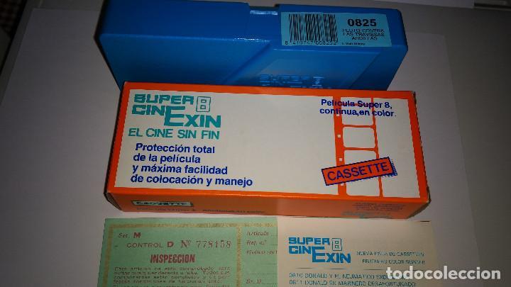 SUPER CINEXIN PELICULA REF:0825 NUEVA (Juguetes - Marcas Clásicas - Exin)