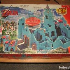 Juguetes antiguos Exin: EXIN CASTILLOS ZELDA COMPLETO CON LAS BOLSAS PRECINTADAS 1546 PIEZAS. Lote 95833483