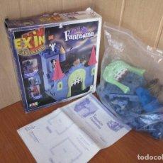 Juguetes antiguos Exin: EXIN CASTILLOS: MANSION FANTASMA (COMPLETO). Lote 95860663