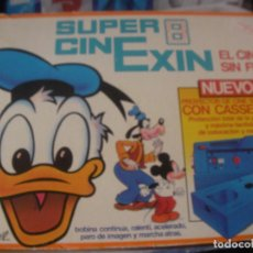 Juguetes antiguos Exin: SUPER CINE EXIN CON TRES PELICULAS. Lote 97456419