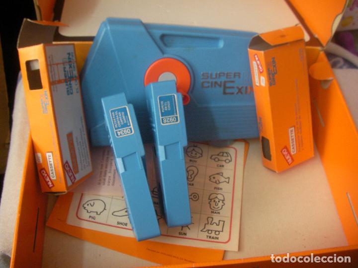 Juguetes antiguos Exin: SUPER CINE EXIN CON TRES PELICULAS - Foto 2 - 97456419