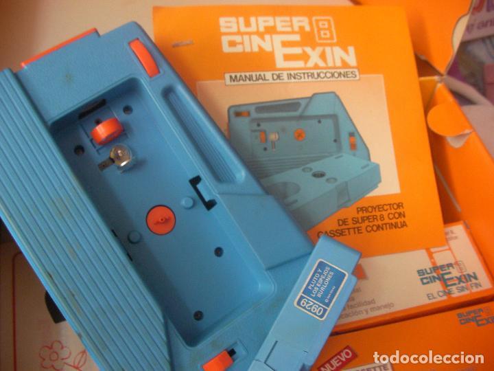 Juguetes antiguos Exin: SUPER CINE EXIN CON TRES PELICULAS - Foto 4 - 97456419