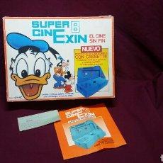 Juguetes antiguos Exin: CINEXIN SUPER 8 FLASH GORDON DONALD Y LOS TIBRONES REF 801. Lote 98136219