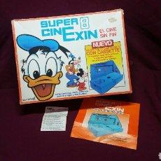 Juguetes antiguos Exin: CINEXIN SUPER 8 PETER PAN FLASH CORDON CONTRA EL MONSTRUO MICKEY REF 802. Lote 98137674