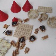 Juguetes antiguos Exin - lote de piezas originales exin castillos años 70 - 102698019