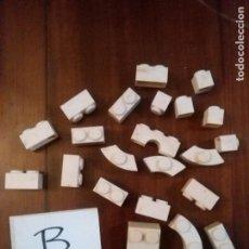 Juguetes antiguos Exin: LOTE B EXIN - PIEZAS EXIN CASTILLOS . BUEN ESTADO . Lote 105051443