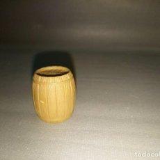 Juguetes antiguos Exin: 918- BARRIL -- EXIN WEST - AÑOS 70/80 - 2.5 CMS APROX. Lote 161231025