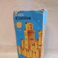 Juguetes antiguos Exin: EXIN CASTILLOS SERIE AZUL Nº0. COMPLETO. REF 3. EN CAJA. Lote 107325335