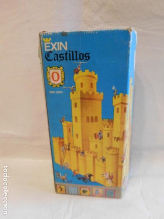 EXIN CASTILLOS SERIE AZUL Nº0. COMPLETO. REF 4. EN CAJA (Juguetes - Marcas Clásicas - Exin)