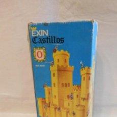Juguetes antiguos Exin: EXIN CASTILLOS SERIE AZUL Nº0. COMPLETO. REF 4. EN CAJA. Lote 107325403