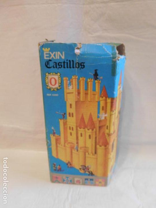 Juguetes antiguos Exin: Exin castillos serie azul nº0. Completo. Ref 4. en caja - Foto 2 - 107325403