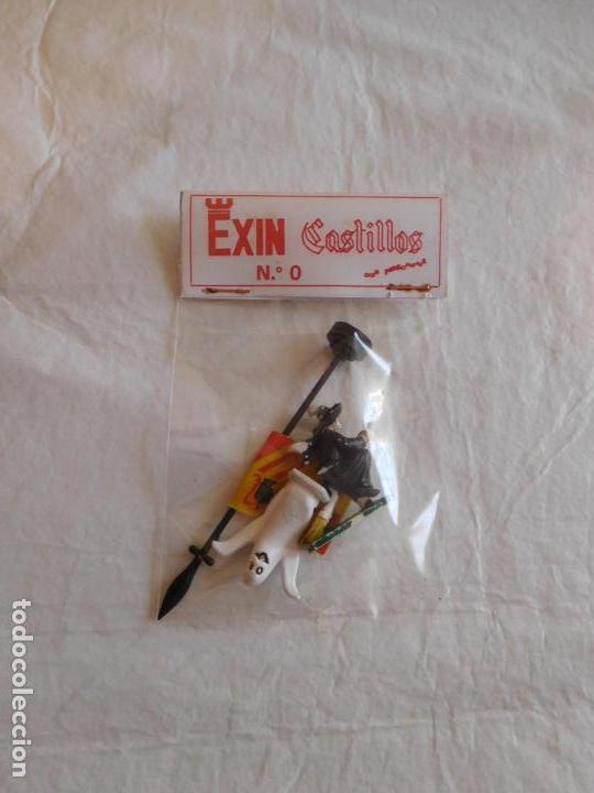 Juguetes antiguos Exin: Exin castillos serie azul nº0. Completo. Ref 4. en caja - Foto 4 - 107325403