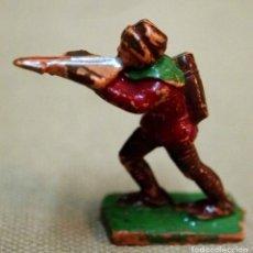 Juguetes antiguos Exin: FIGURA DE PLASTICO, MEDIEVAL, EXIN CASTILLOS, 1970S. Lote 107481035