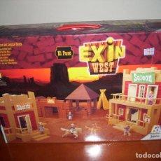 Juguetes antiguos Exin: EXIN WEST / EXIN CASTILLOS : EL PASO (COMPLETO). Lote 107604251