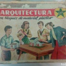 Juguetes antiguos Exin: CAJA ARQUITECTURA DE EXIN. Lote 107933604