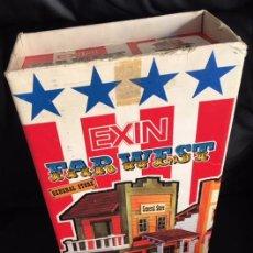 Juguetes antiguos Exin: EXIN FAR WEST GENERAL STORE EN SU CAJA ORIGINAL. Lote 108062155