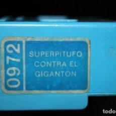 Juguetes antiguos Exin: PELICULA CINE EXIN SUPER PITUFO CONTRA EL GIGANTON. Lote 108345875