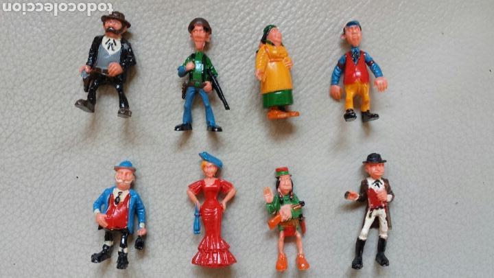 Juguetes antiguos Exin: Enorme lote piezas Exin West con figuras como Exin Castillos - Foto 3 - 109264932