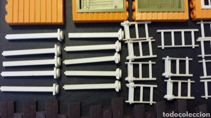 Juguetes antiguos Exin: Enorme lote piezas Exin West con figuras como Exin Castillos - Foto 19 - 109264932