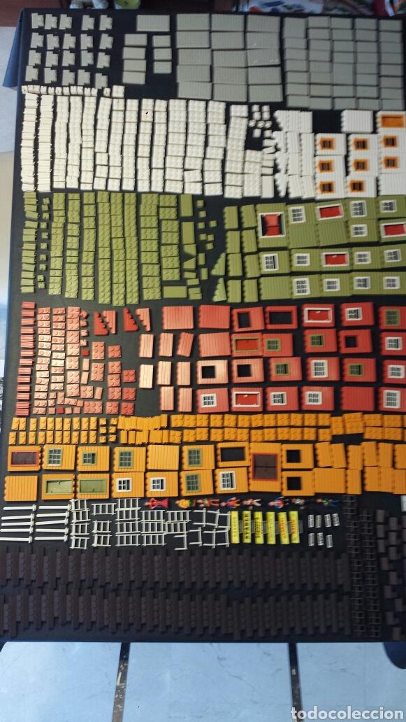 Juguetes antiguos Exin: Enorme lote piezas Exin West con figuras como Exin Castillos - Foto 39 - 109264932
