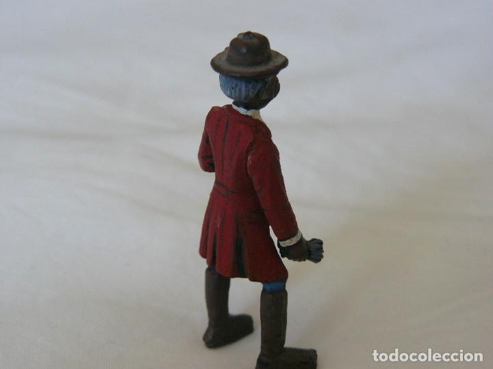 Juguetes antiguos Exin: EXIN WEST NEGRO LIBERTO CON GUANTES PINTADO EN ALTA CALIDAD - Foto 5 - 109540907