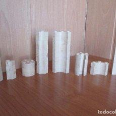 Brinquedos antigos Exin: EXIN CASTILLOS: LOTE VARIADO DE 50 PIEZAS PDJ. Lote 224651010