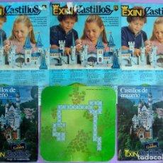 Juguetes antiguos Exin: EXIN CASTILLOS CLÁSICO - INSTRUCCIONES, BASE Y MANUALES SERIE GOLDEN I, IV Y V.. Lote 115374023