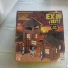 Juguetes antiguos Exin: EXIN WEST FORT FRONTIER -POPULAR DE JUGUETES-. Lote 117405964