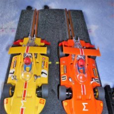 Juguetes antiguos Exin: LOTE SCALEXTRIC EXIN COCHES SIGMA. Lote 117883887