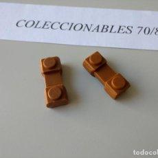 Juguetes antiguos Exin: ACCESORIOS EXIN WEST FORT APACHE ORIGINAL AÑOS 70 PIEZAS DE CONSTRUCCION. Lote 120608207