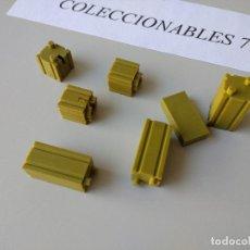 Juguetes antiguos Exin - ACCESORIOS EXIN WEST ORIGINAL AÑOS 70 PIEZAS DE CONSTRUCCION OESTE - 120760231