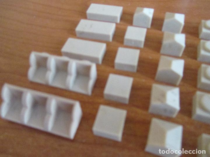 Juguetes antiguos Exin: EXIN CASTILLOS PDJ: LOTE 55 PIEZAS PARA ACABADOS - Foto 2 - 288430413
