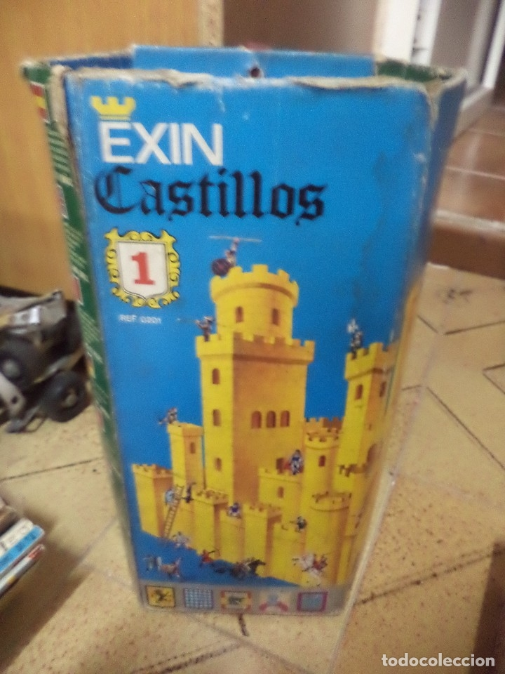 Juguetes antiguos Exin: EXIN CASTILLOS Nº1.Ref.0201.EXIN años 70. - Foto 4 - 157460009