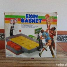 Juguetes antiguos Exin: JUEGO EXIN DE BALONCESTO EXIN BASKET . Lote 122536295