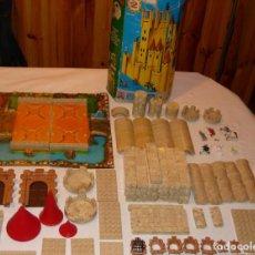 Juguetes antiguos Exin: EXIN CASTILLOS SERIE AZUL 2 CON CAJA ORIGINAL. Lote 128116599