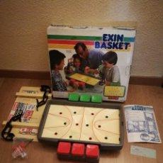 Juguetes antiguos Exin: EXIN BASKET AÑOS 80. SIN JUGAR. COMPLETO CON REGALO DE 2 BALONES. Lote 128665367