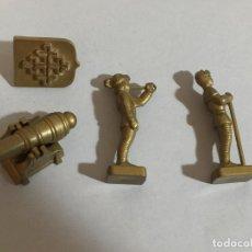 Juguetes antiguos Exin: EXIN. CASTILLOS SERIE GOLDEN LOTE VARIADO. Lote 129114343