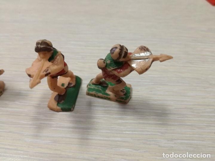Juguetes antiguos Exin: LOTE FIGURAS ORIGINALES CABALLERO Y BALLESTEROS ARQUEROS EXIN CASTILLOS AÑOS 70 - Foto 5 - 129177179